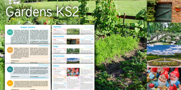 imagine gardens ks2 resource pack - Garden Design Ks2