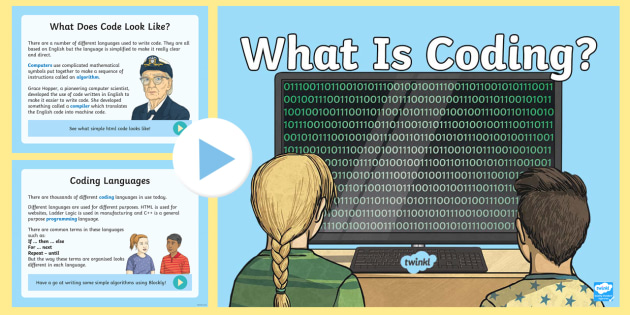 KS2 What is Coding? PowerPoint