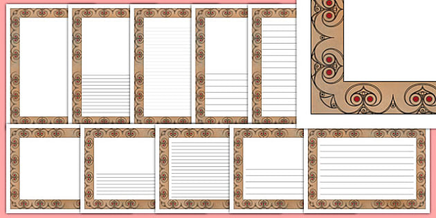 Iron Age Themed Writing Frames - the iron age, history, templates