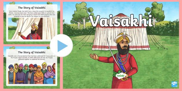 Vaisakhi Powerpoint Vaisakhi Powerpoint Information Sikh