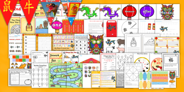 Chinese New Year Ks1 Lesson Plan Ideas And Resource Pack Plans