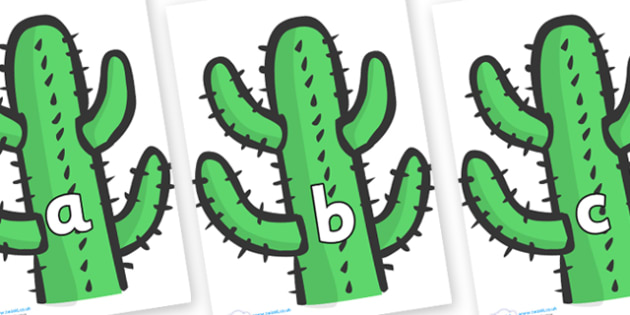 Phase 2 Phonemes on Cactus - Phonemes, phoneme, Phase 2, Phase two, Foundation, Literacy, Letters and Sounds, DfES, display