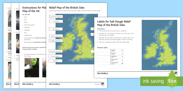 Geography department prospective parents evening salt dough geography department prospective parents evening salt dough relief map of the british isles worksheet gumiabroncs Gallery