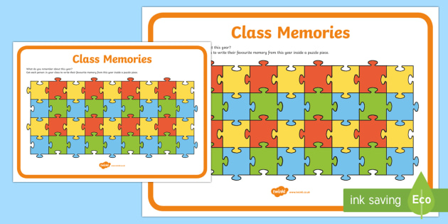 Class Memories End of Year Activity Sheet - End of Year, last day, worksheet, activity sheet, reflection, class memories,worksheet, Australia
