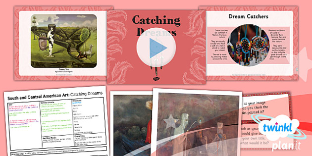 Art: South and Central American Art: Catching Dreams UKS2 Lesson Pack 3