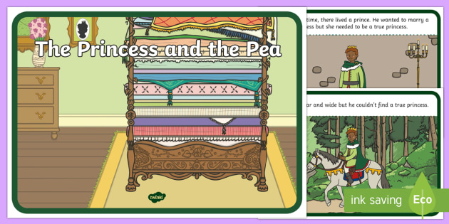 The Princess and the Pea Story Sequencing - The Princess and the Pea, sequencing, prince, queen, princess, pea, castle, fairytale, traditional tale, Hans Christian Andersen, story, story sequencing,