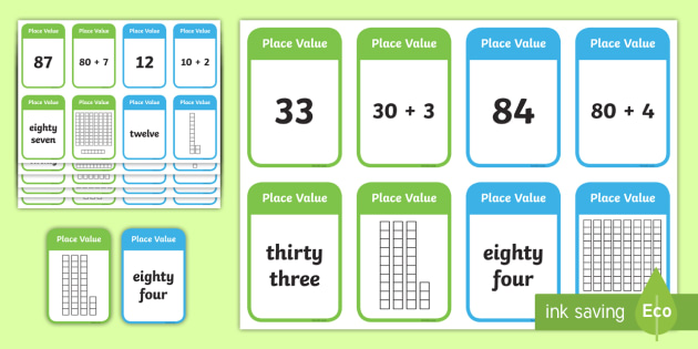Place Value Go Fish Style Activity - place value game, ks2 maths game, place value card game, maths card game, maths games, place value activitiy, ks2