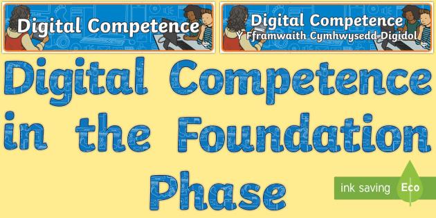 Digital Competence Framework Display Pack