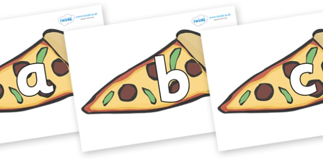 Phoneme Set on Pizza - Phoneme set, phonemes, phoneme, Letters and Sounds, DfES, display, Phase 1, Phase 2, Phase 3, Phase 5, Foundation, Literacy