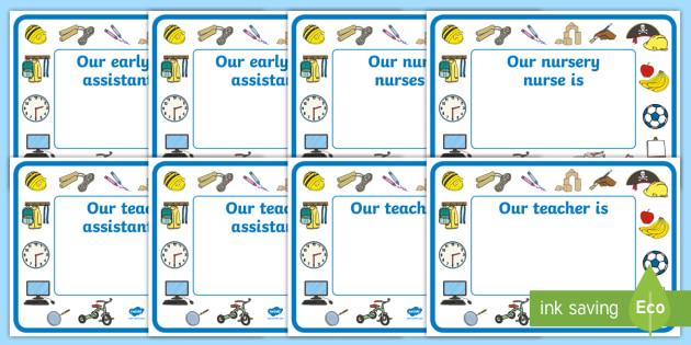 editable classroom teacher ta nn signs design 2 classroom