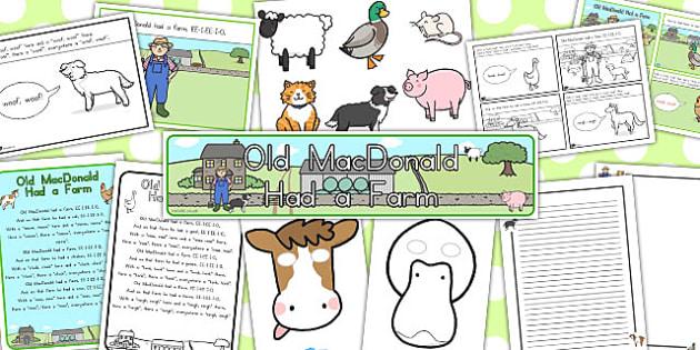 Old MacDonald Had a Farm Resource Pack - australia, resources