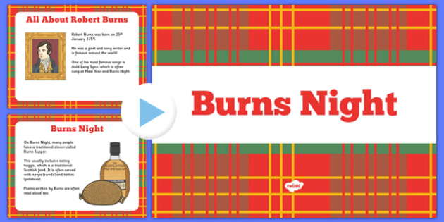 EYFS All About Burns Night  PowerPoint - EYFS, Early, Early Years, Scotland, celebrations, winter