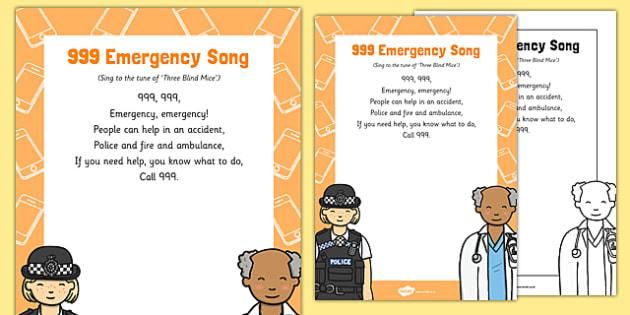 999 Emergency Song