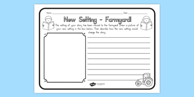 New Setting Farm Yard Comprehension Worksheet - worksheets, farms