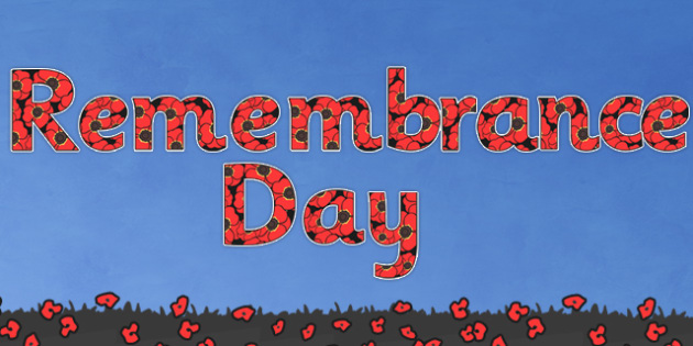 Remembrance Day Display Lettering - remembrance day, display lettering, remembrance day display, remembrance day display letters, display letters