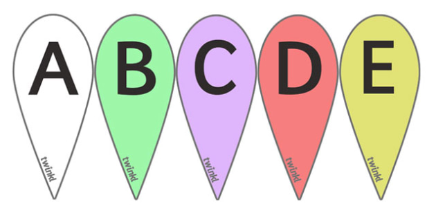 A-Z Letter Fans (Capitals) - Phoneme fans, Alphabet  Fans, A-Z letters, Alphabet flashcards, foundation stage literacy, letters and sounds, DfES, KS1