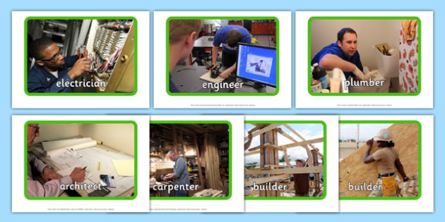 Occupations - The Building Site Display Photos - occupations, building site, display photos