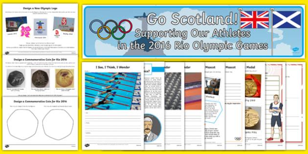 Top 10 Scotland Olympics Resource Pack