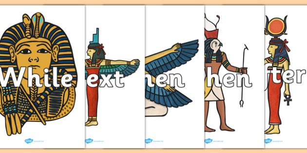 Sentence Openers on Egyptian Images - sentence openers, sentence, openers, egyptian, images