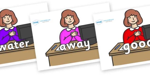 Next 200 Common Words on Receptionist - Next 200 Common Words on  - DfES Letters and Sounds, Letters and Sounds, Letters and sounds words, Common words, 200 common words