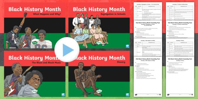 Black History Month KS2 Assembly Pack