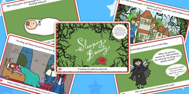 Sleeping Beauty Story EAL Romanian Translation Version - eal