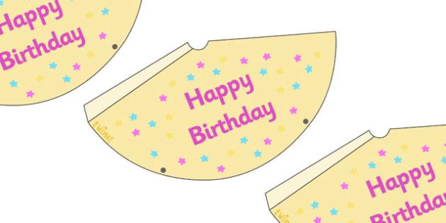 Birthday Party Hats - Birthdays, birthday party, party hat, party invitation, invitations, party food, cake, balloons, happy birthday, birthday role play