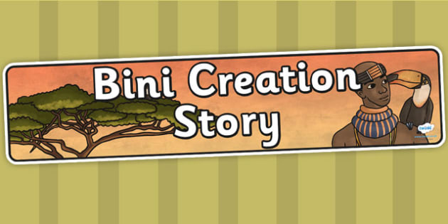 Kingdom of Benin: Bini Creation Story Display Banner