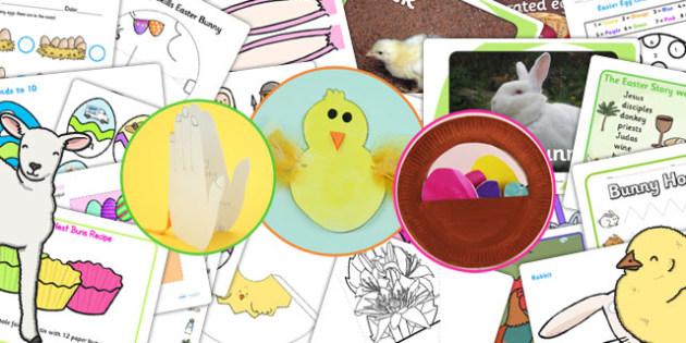 EYFS Easter Resource Starter Pack - resource pack, eyfs, easter