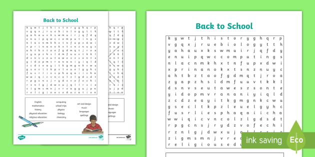 photo relating to Back to School Word Search Printable identify Yr 6 Back again toward College Wordsearch Worksheet / Worksheet