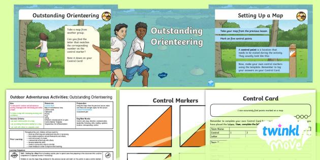 OAA: Orienteering - Year 4 PE Lesson