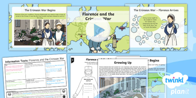 Significant Individuals: Florence Nightingale: Information Texts 2 Y2 Lesson Pack - Nurses, Victorians, Crimean war, mini topic, year one history, Mary Seacole