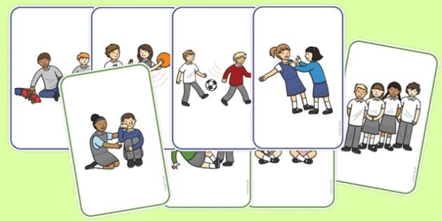 Good Bad Behaviour Flashcards - good behaviour, flashcards, bad behaviour