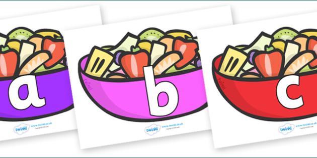 Phoneme Set on Fruit Salad - Phoneme set, phonemes, phoneme, Letters and Sounds, DfES, display, Phase 1, Phase 2, Phase 3, Phase 5, Foundation, Literacy