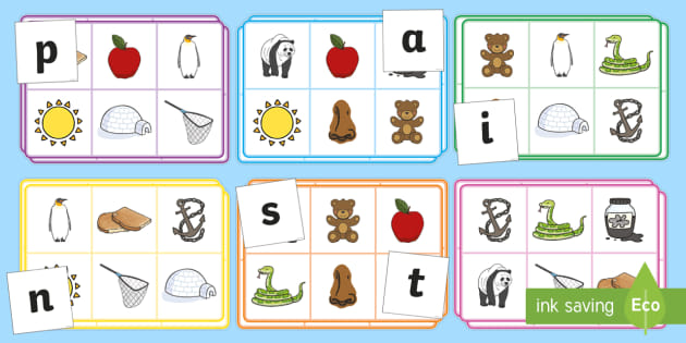 Free Phonics Bingo Phase 2 Primary Resource Twinkl