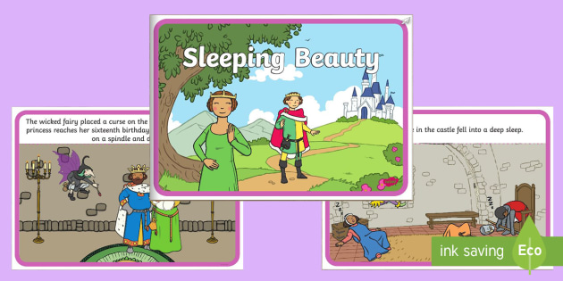 Sleeping Beauty eBook - books, interactive book, traditional tale