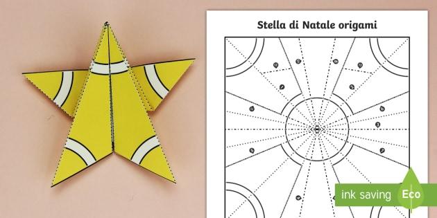 Origami Stella Di Natale.Stella Di Natale Origami Attivita Teacher Made