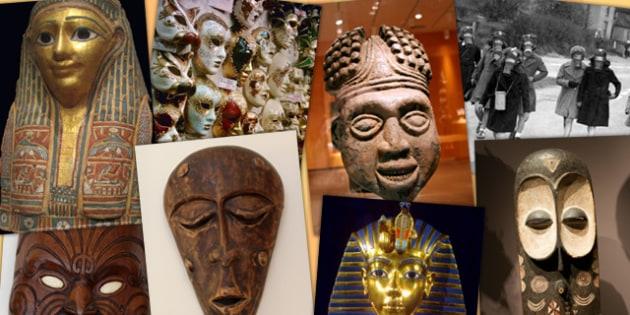 Masks Photopack - masks, photopack, photo, pack, egyptian, photos