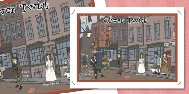 Oliver Twist Display Poster - oliver twist, display, poster