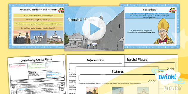 RE: Christianity: Special Places Year 4 Lesson Pack 3