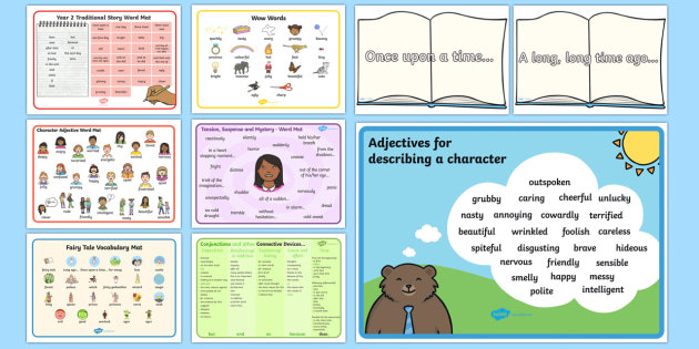 story words ks1 - - story, words, ks1, prompt cards