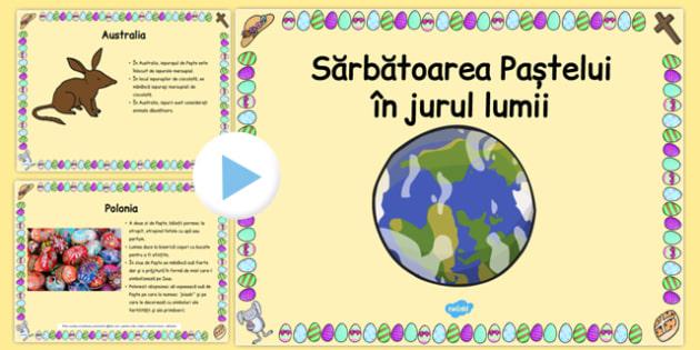 Paștele în jurul lumii - Prezentare PowerPoint
