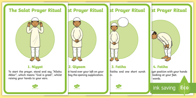 FREE! - The Salat Prayer Ritual Posters - Religion, faith, muslim