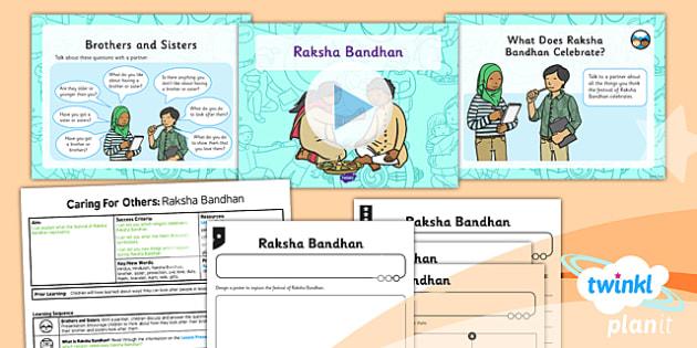 RE: Caring for Others: Raksha Bandhan (Hinduism) Year 1 Lesson Pack 2