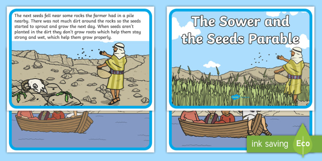 The Sower and the Seeds Parable PowerPoint - RE Resource