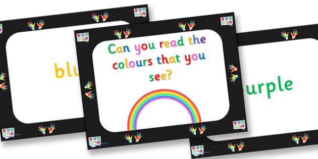 Brain Gym Read The Colour That You See PowerPoint - brain gym, powerpoint, brain training, discussion starters, discussion prompt, class discussion