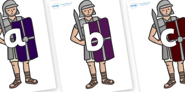 Phoneme Set on Roman Legionaries - Phoneme set, phonemes, phoneme, Letters and Sounds, DfES, display, Phase 1, Phase 2, Phase 3, Phase 5, Foundation, Literacy