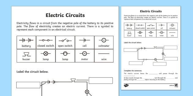 Parallel Circuit Diagram 4th Grade Wiring Diagram