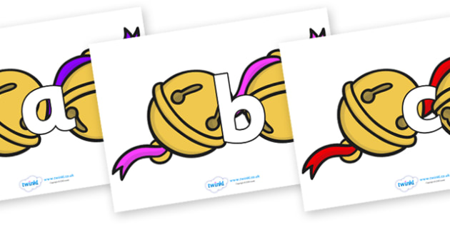 Phoneme Set on Jingle Bells - Phoneme set, phonemes, phoneme, Letters and Sounds, DfES, display, Phase 1, Phase 2, Phase 3, Phase 5, Foundation, Literacy