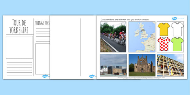 Tour De Yorkshire Brochure Template - brochure, tour de yorkshire